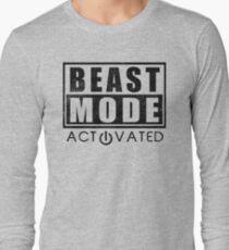 Beast Mode Bodybuilding Gym Sports Motivation Long Sleeve T-Shirt