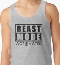 Beast Mode Bodybuilding Gym Sports Motivation Tank Top