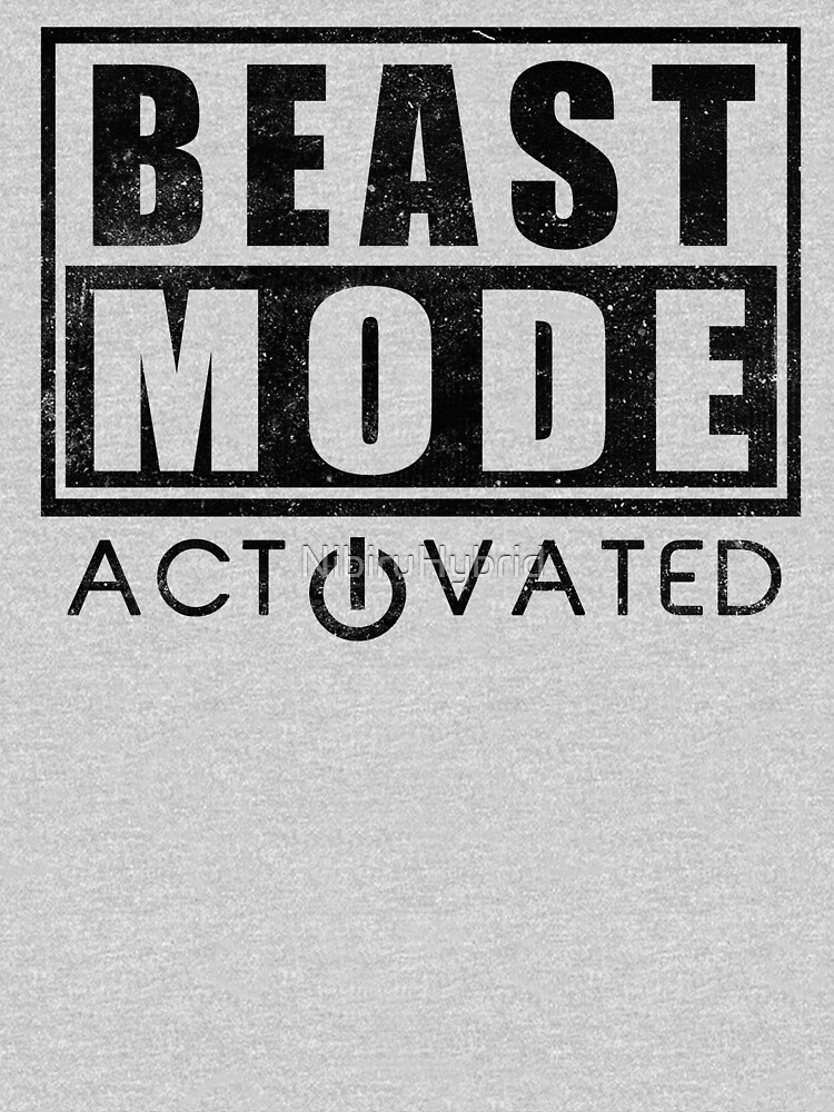 Beast Mode Bodybuilding Gym Sports Motivation | Unisex T-Shirt