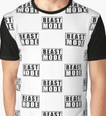 Beast Mode Bodybuilding Gym Sports Motivation Graphic T-Shirt