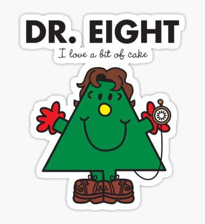 Dr. Eight Sticker