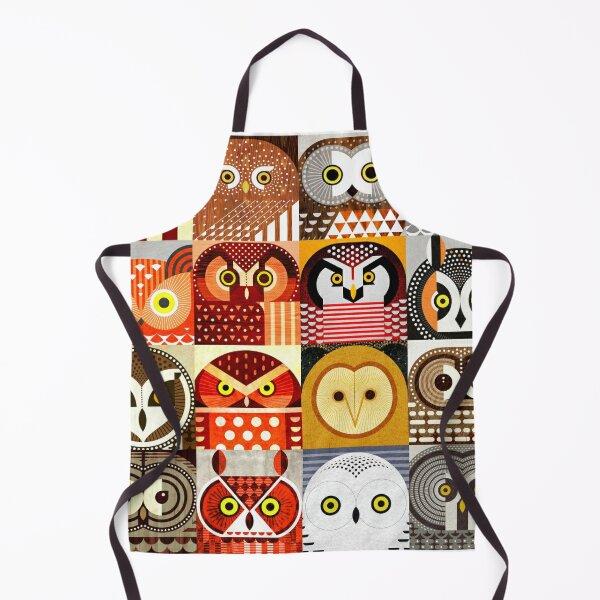 North American Owls Apron