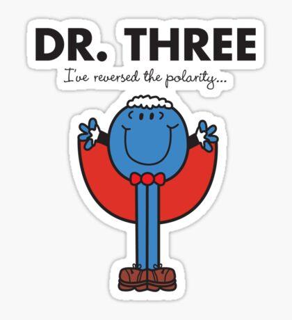 Dr Three Sticker