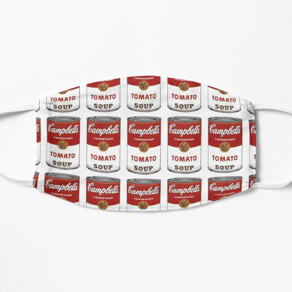 Campbell's Soup Can Flat Mask