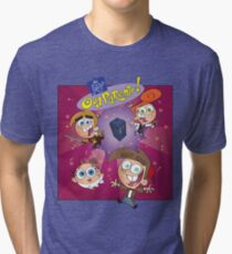 Fairly Odd Parents Who? Tri-blend T-Shirt