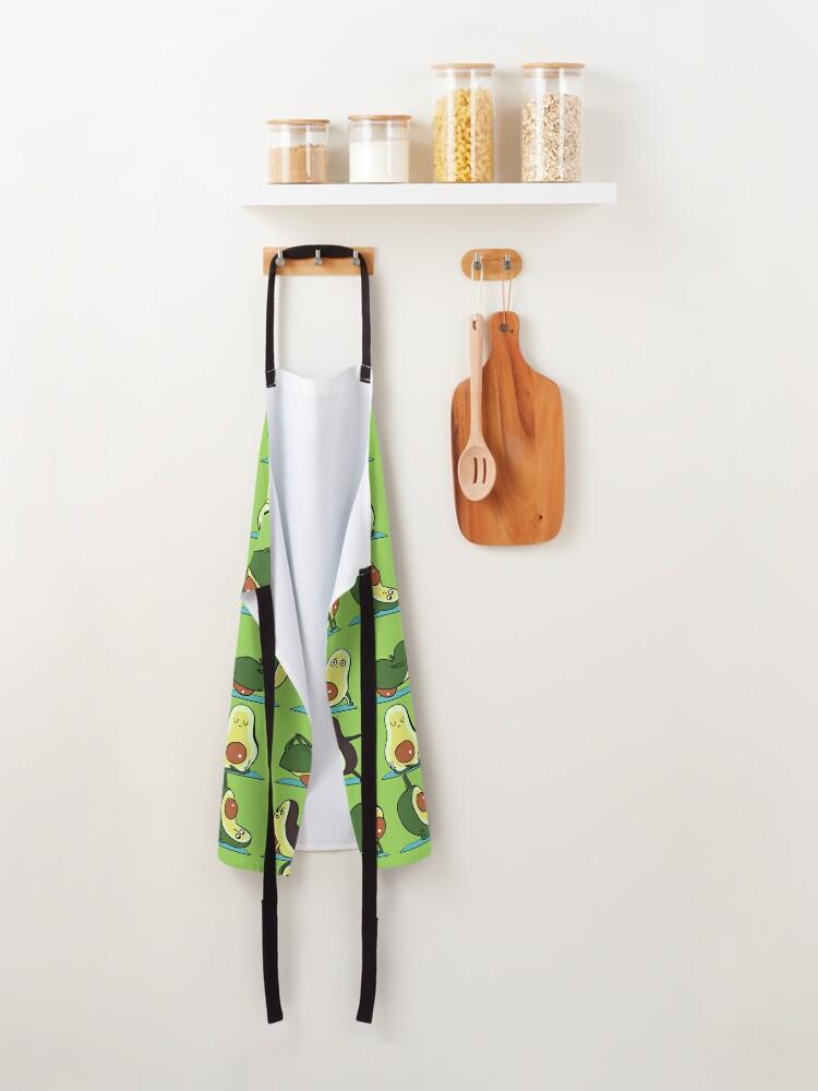 Alternate view of Avocado Yoga Apron
