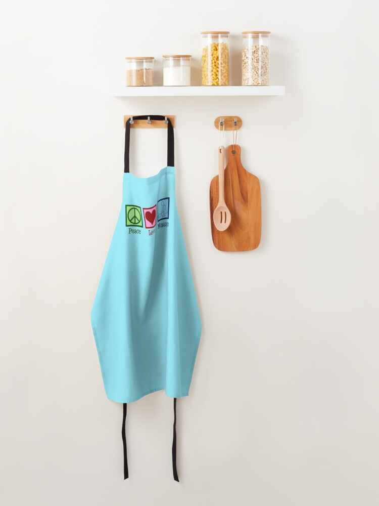 Alternate view of Peace Love Massage Therapy Apron