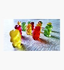 Gummy! Photographic Print