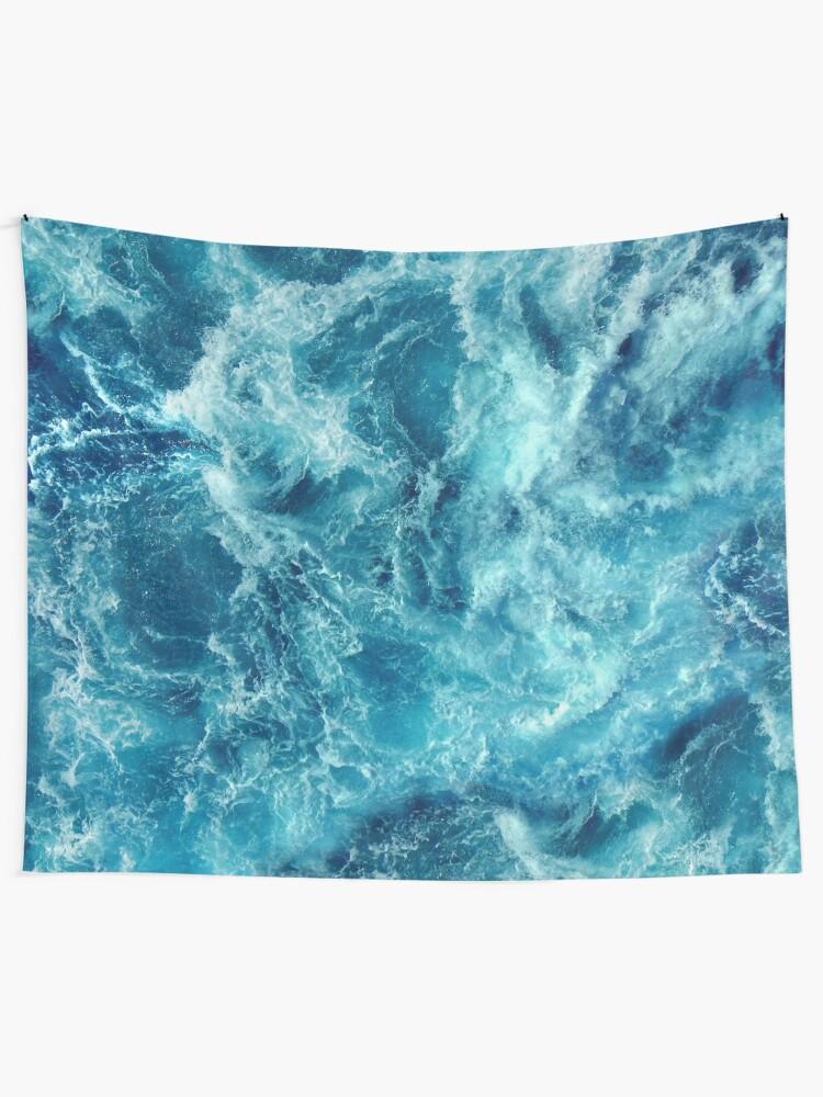 Alternate view of Ocean is shaking Tapestry
