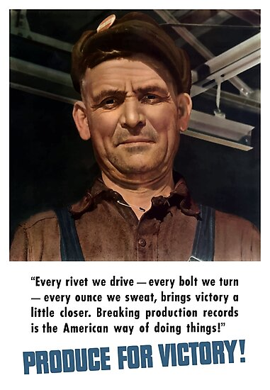 Produce For Victory -- World War 2 by warishellstore