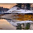 Sunrise, Harpswell ,Maine by Dave  Higgins
