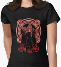 Hells King Womens Fitted T-Shirt