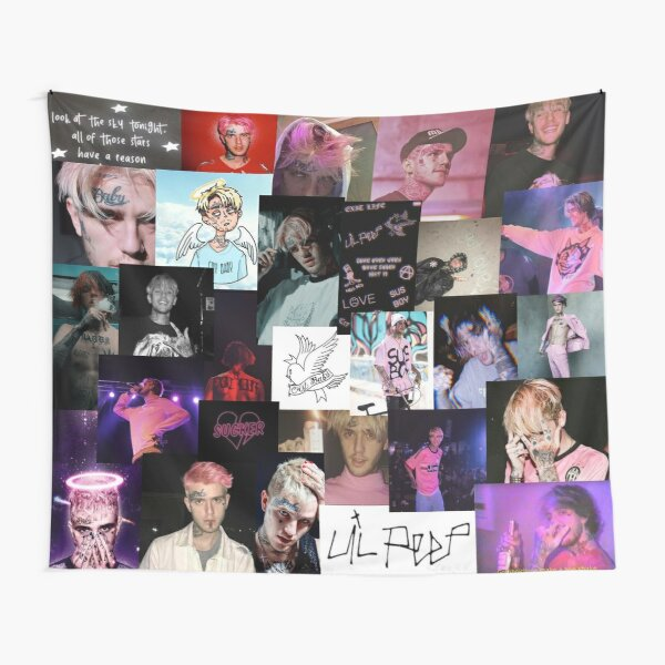 peep collage Tapestry