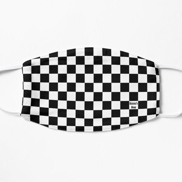 Checkered Mask Flat Mask