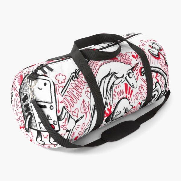 My Adventure Time Sketchbook Duffle Bag