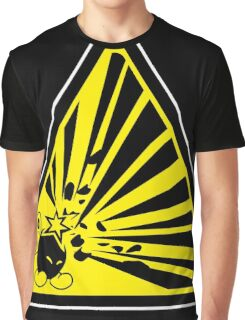 CAUTION: Risk of Explosion Graphic T-Shirt