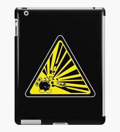 CAUTION: Risk of Explosion iPad Case/Skin
