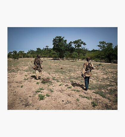 Donso on the Hunt Photographic Print