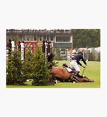 When good jumps go BAD! 5/8 Photographic Print