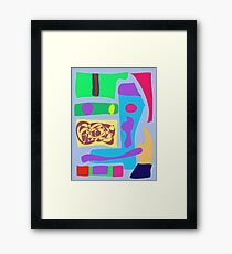 Supermarket Framed Print