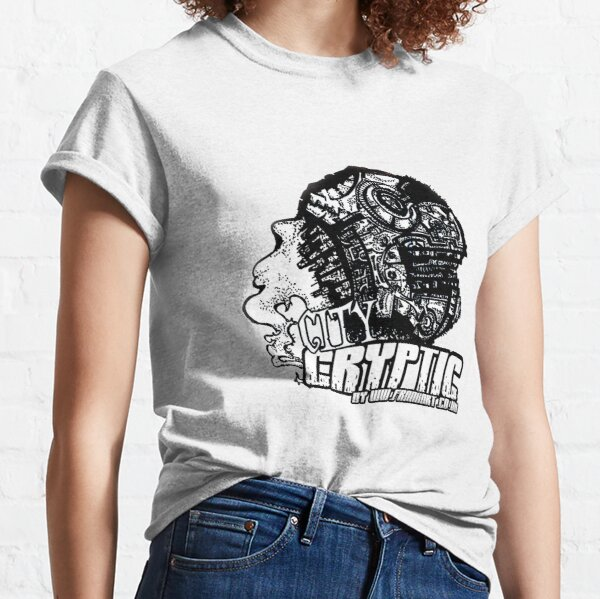 City Cryptic Childrens Sizes by Frank Louis Allen Classic T-Shirt