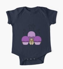 Cute Monster With Purple Frosted Cupcakes Kids Clothes