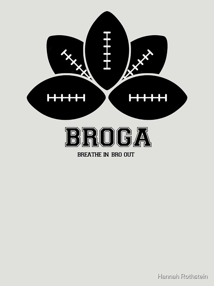 Broga: The Official Yoga for Bros Logo by HRothstein