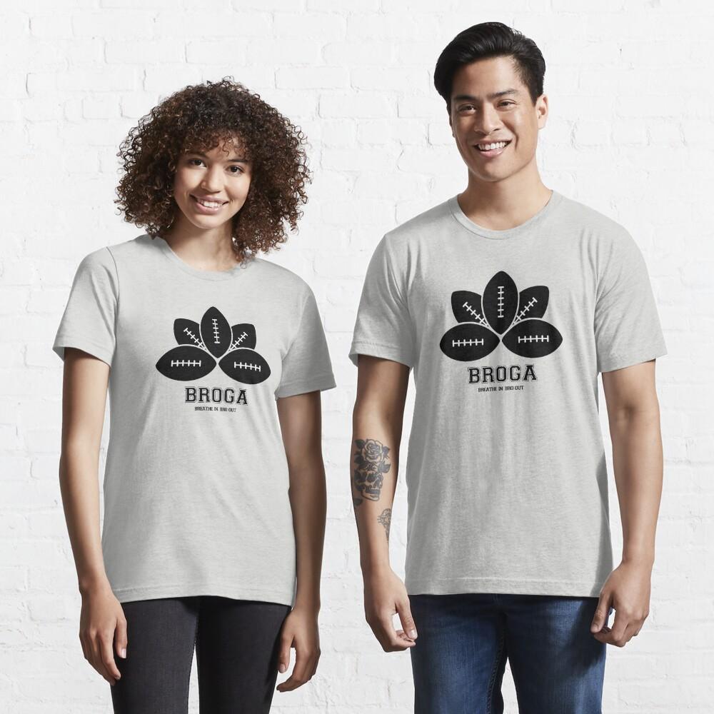 Broga: The Official Yoga for Bros Logo Essential T-Shirt