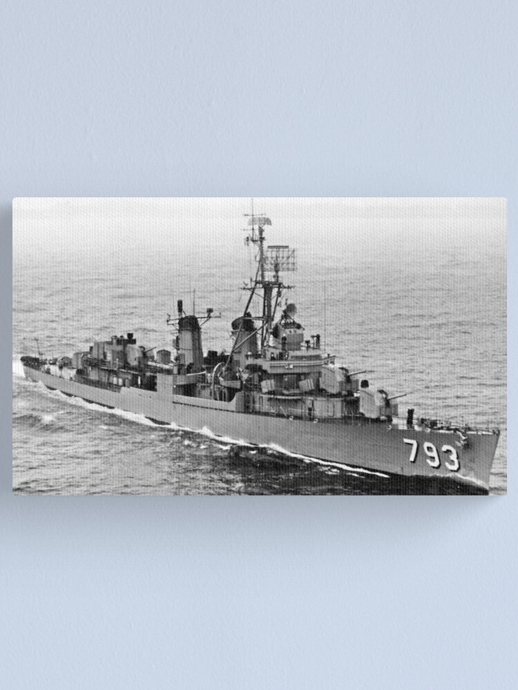 Alternate view of USS CASSIN YOUNG (DD-793) SHIP'S STORE Canvas Print