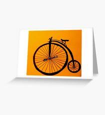 Funky Bike Greeting Card