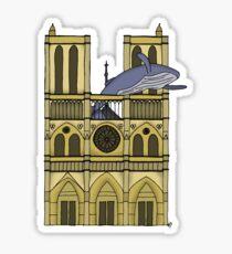Humpback of Notre Dame Sticker