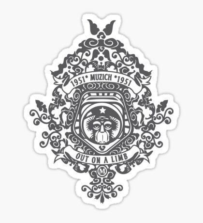 Monkey On a Limb Tee Sticker