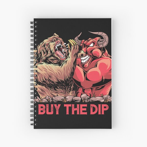Buy The Dip Day Trader  Spiral Notebook