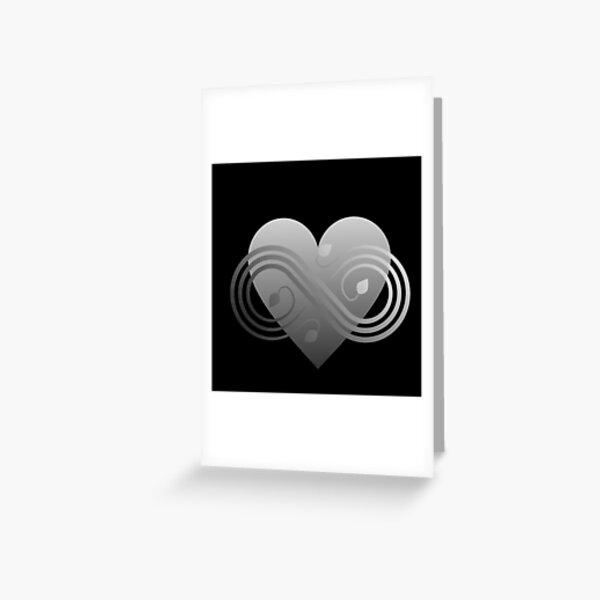 Polyamory Infinity Heart - Infinite Love Greeting Card