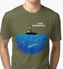 Camiseta de tejido mixto El mundo de los Weepies