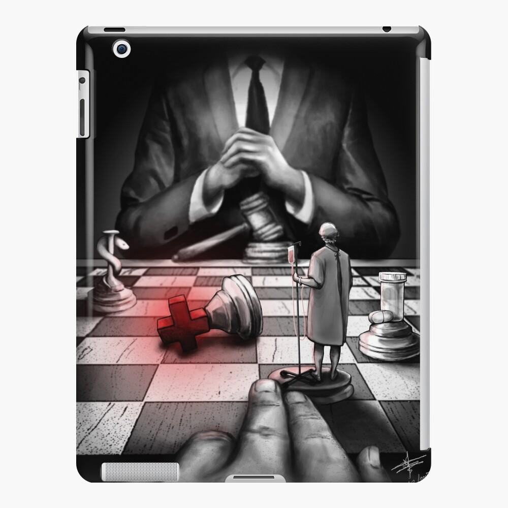 Medicina + Política Funda y vinilo para iPad