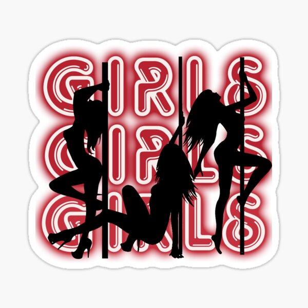 girls girls girls Sticker