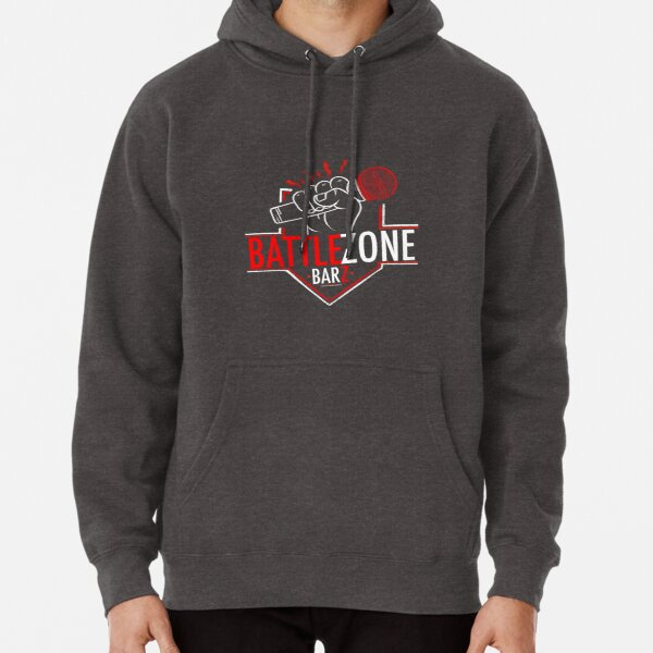 Welcome to the Battle Zone (original design) Pullover Hoodie