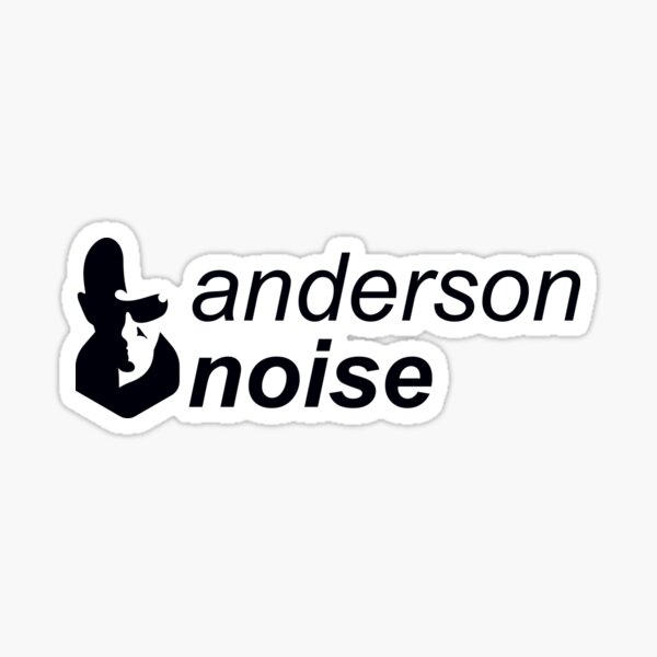 Anderson Noise - Top South American DJ #analog02 Sticker
