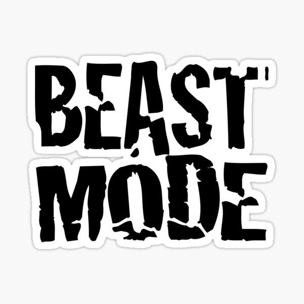 Beast Mode 1 Sticker