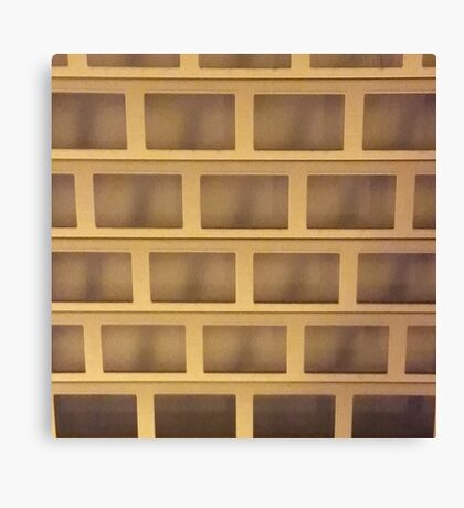 Dusk Grid 1 Canvas Print