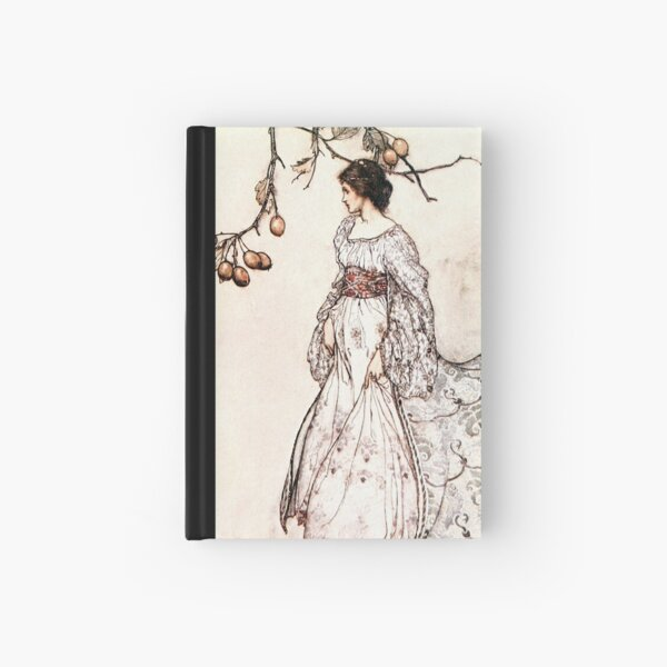 Looking very undancey indeed - Peter Pan in Kensington Gardens - Arthur Rackham Hardcover Journal