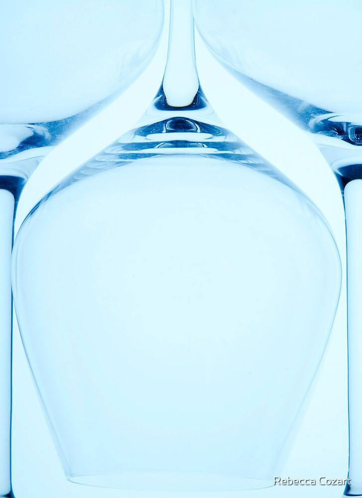 Wine glass Series 2 by Rebecca Cozart