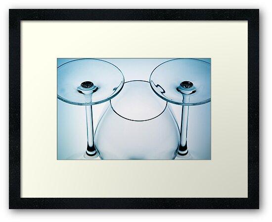 Wine Glass Series 6 by Rebecca Cozart