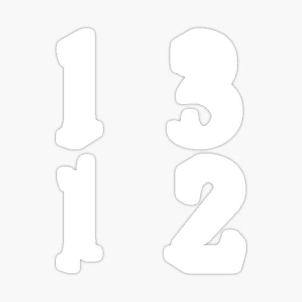 1312 loss 2x2 Sticker
