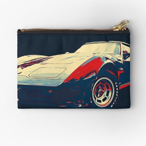 Painted '76 Corvette Zipper Pouch