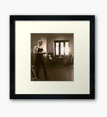 a cultured portance Framed Print