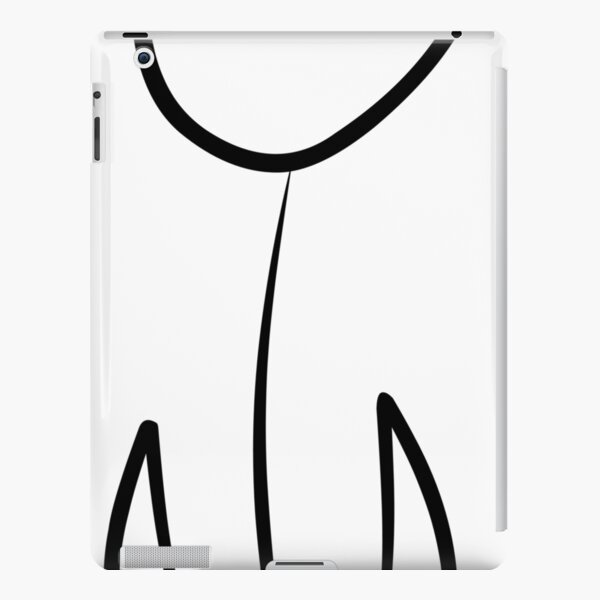 Line Art Tulip iPad Snap Case