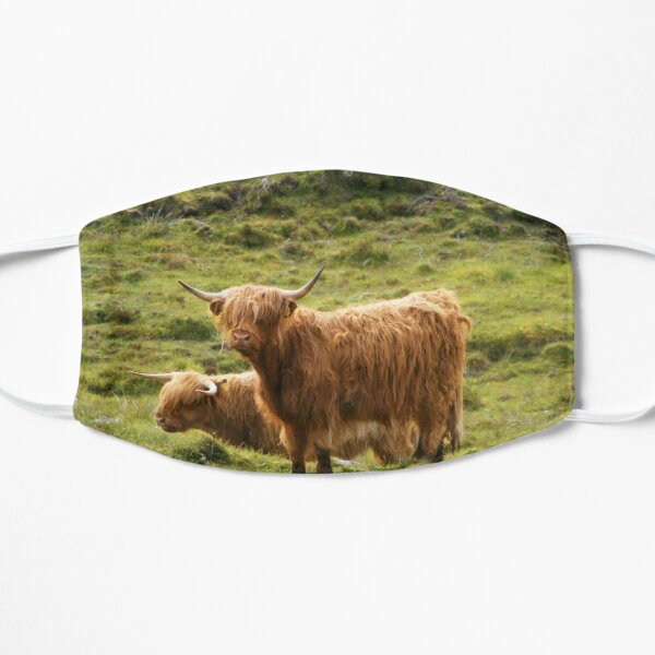 Scottish Highland Cows Mask