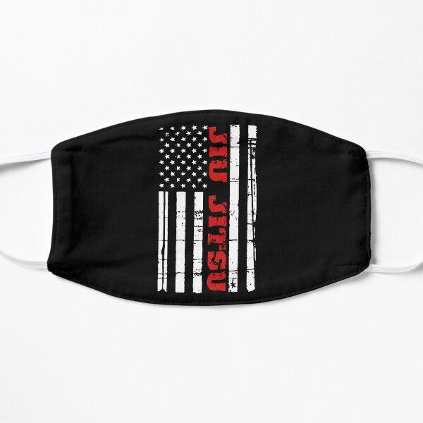 Jiu Jitsu Flag T-Shirt American Jiu Jitsu BJJ Flat Mask